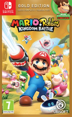 Mario+Rabbids Kingdom Battle Gold Switch