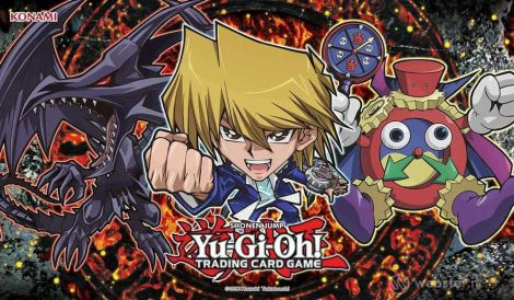 Yu-Gi-Oh! Playmat Duelist Kingdom Chibi Game Mat