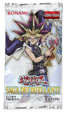 Yu-Gi-Oh! Saga dei Duellanti 1°Edizione (Busta 5 Carte)