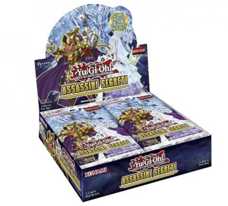 Yu-Gi-Oh! Assassini Segreti 1°Edizione (Box 24 buste)