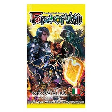 Force of Will NUOVO VALHALLA 1 Nuova Alba (Busta 10 Carte)