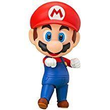 Super Mario Bros. Nendoroid Action Figure Mario 10cm