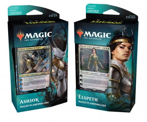 Magic The Gathering Theros Oltre la Morte Mazzo Planeswalker