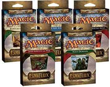 Magic The Gathering Conflux: Intro Pack (Box 5 Pack)