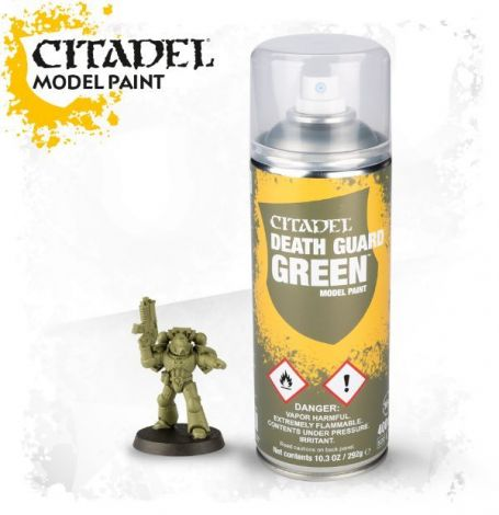 Death Guard Green Vernice Citadel Spray