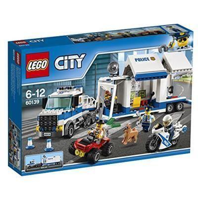 LEGO City 6-12 60139 Centro di Comando Mobile