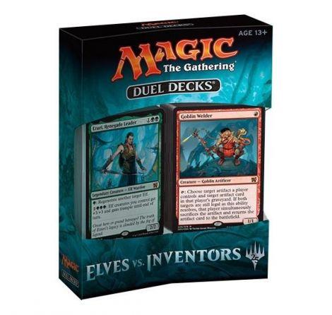 Magic The Gathering Duel Decks Elves vs Inventors Inglese