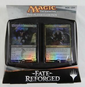 Magic The Gathering Fate Reforged, Two Players Clash Pack Inglese