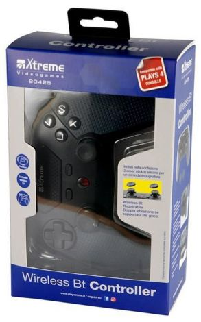 Controller Wireless Bluetooth PS4 (2 thumb grips inclusi)