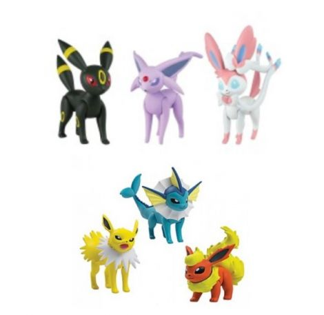 Pokémon Action Figure Pack 3 Eevolutions