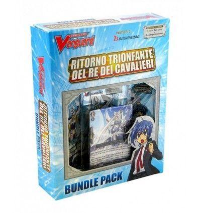 Cardfight!! Vanguard BT10 Ritorno Trionfante del Re dei Cavalieri Bundle Pack (3 Buste + Promo)