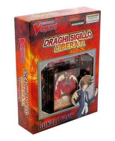 Cardfight!! Vanguard BT11 Draghi Sigillo Liberati Bundle Pack (3 buste + Promo)