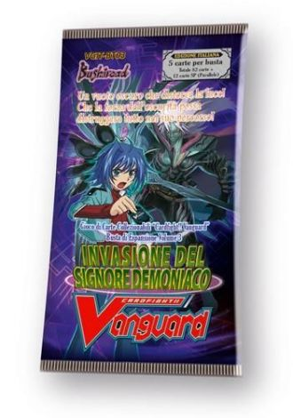 Cardfight!! Vanguard BT03 Invasione del Signore Demoniaco (Busta 5 Carte)
