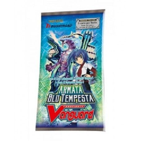 Cardfight!! Vanguard BT08 Armata Blu Tempesta (Busta 5 Carte)