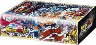 Dragon Ball Super Card Game Draft Box 05 INGLESE (24 Draft Booster 02 (Divine Multiverse) + 4 Copie di una carta Leader Esclusiva + Foglio Regole Draft)