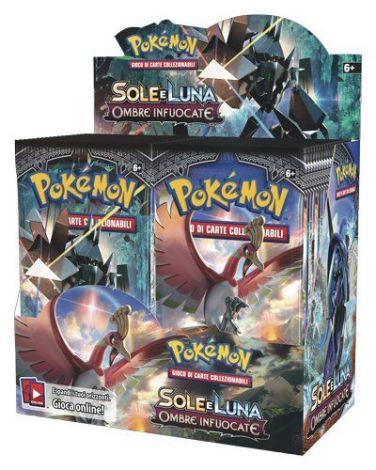Pokémon Sole & Luna Ombre Infuocate (Box 36 Buste)