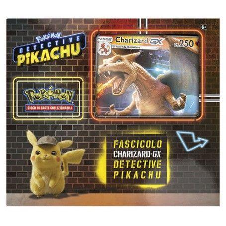 Pokémon Fascicolo Detective Pikachu - Charizard GX