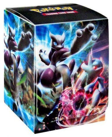 Pokémon Deck Box Mega Mewtwo X & Mega Mewtwo Y