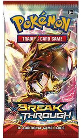 Pokémon XY Turbo Blitz (Busta 10 Carte) Inglese