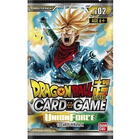 Dragon Ball Super Card Game B2 Union Force (12 Carte per Busta)