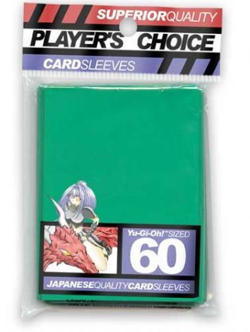 Player's Choice Card Sleeves japanese size Green (60)
