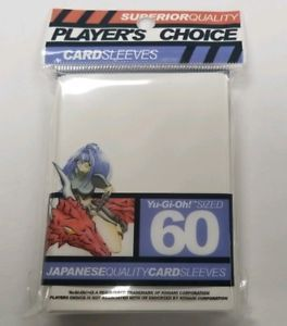 Player's Choice Card Sleeves japanese size White (60)