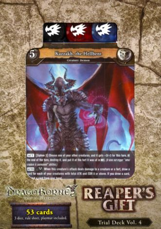 Dragoborne DB-TD04 Trial Deck Vol.4 - Reaper's Gift