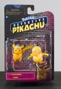 Pokémon Action Figure Pikachu e Psyduck Film Detective Pikachu